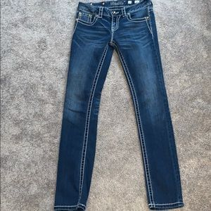 Miss Me sz 27 jeans w/ crystals